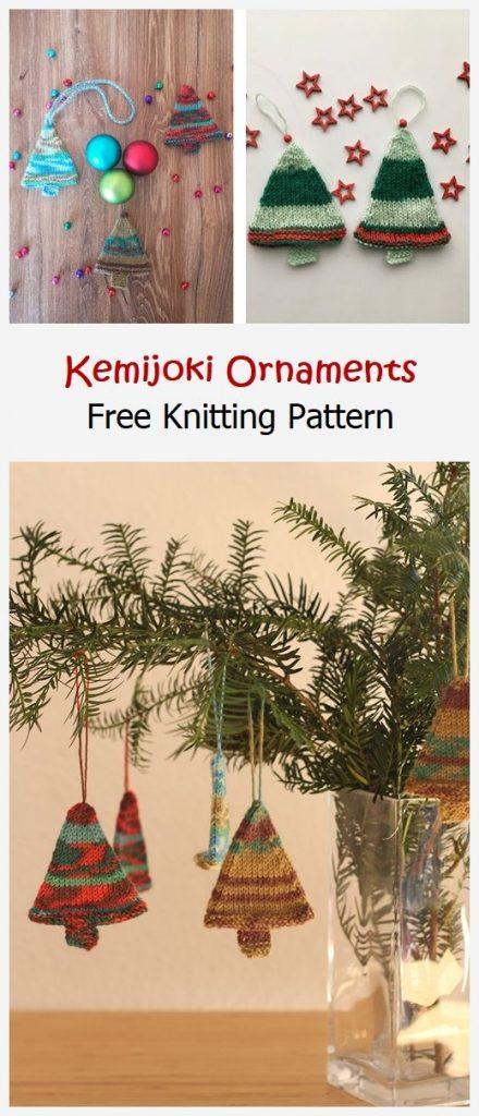 Kemijoki Ornaments Free Knitting Pattern