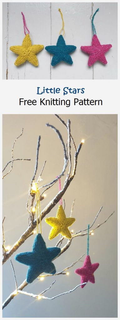 Little Stars Free Knitting Pattern