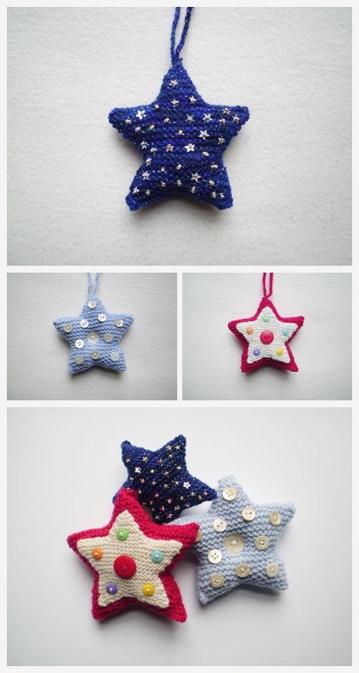 Martha's Star Free Knitting Pattern