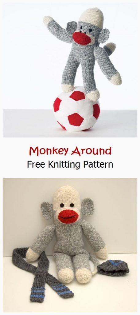 Monkey Around Free Knitting Pattern