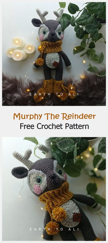 Murphy The Reindeer Free Crochet Pattern