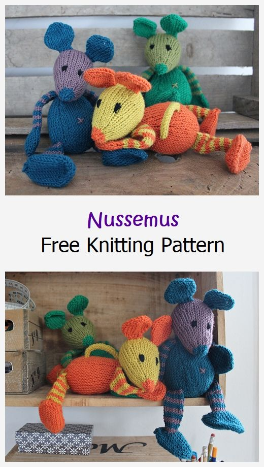 Nussemus Free Knitting Pattern