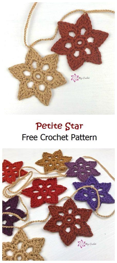 Petite Star Free Crochet Pattern