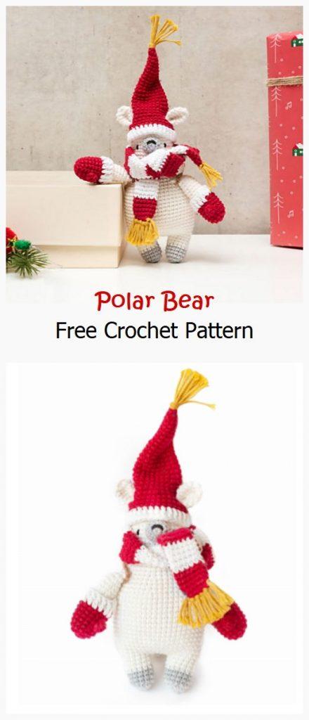 Polar Bear Free Amigurumi Pattern