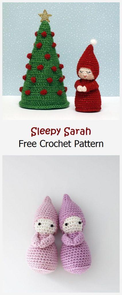 Sleepy Sarah Free Crochet Pattern