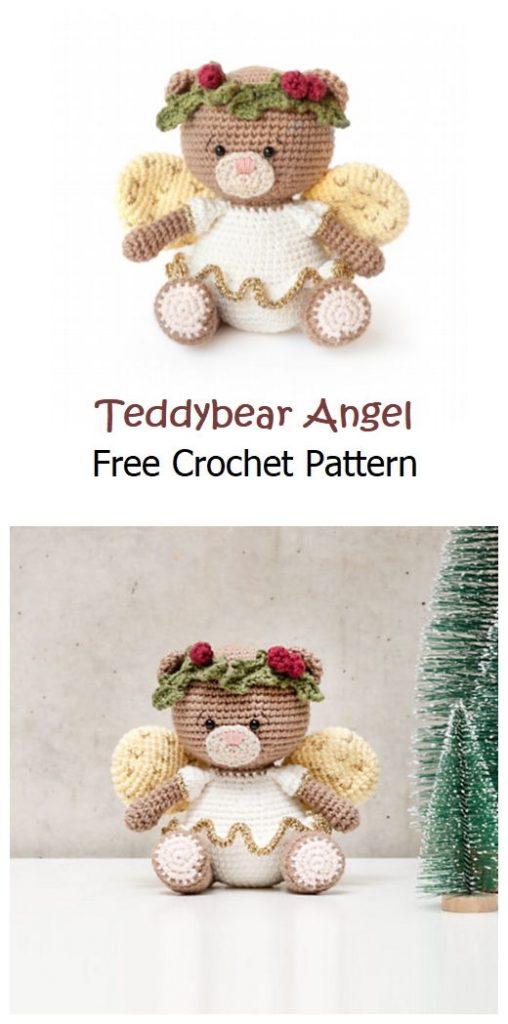 Teddybear Angel Free Amigurumi Pattern