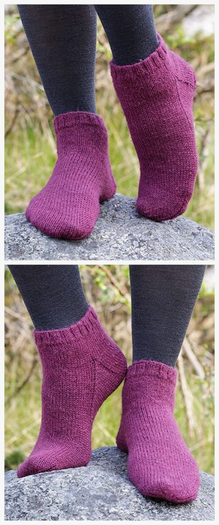 Toasty Toes Free Knitting Pattern