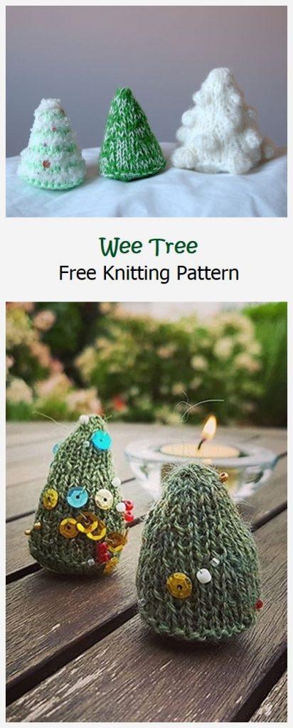 Wee Tree Free Knitting Pattern