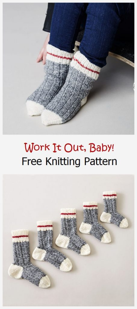 Work It Out, Baby! Free Knitting Pattern