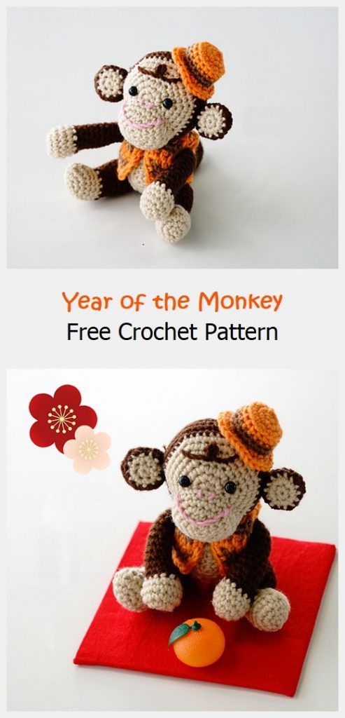 Year of the Monkey Free Crochet Pattern
