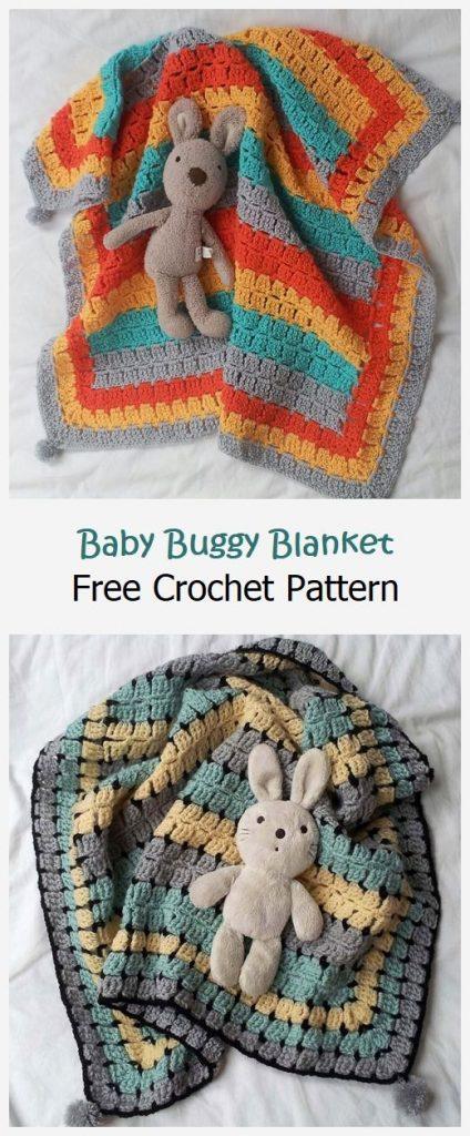 Baby Buggy Blanket Free Crochet Pattern