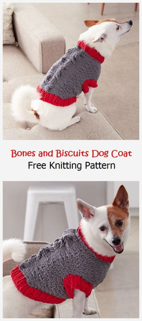 Bones and Biscuits Dog Coat Free Pattern