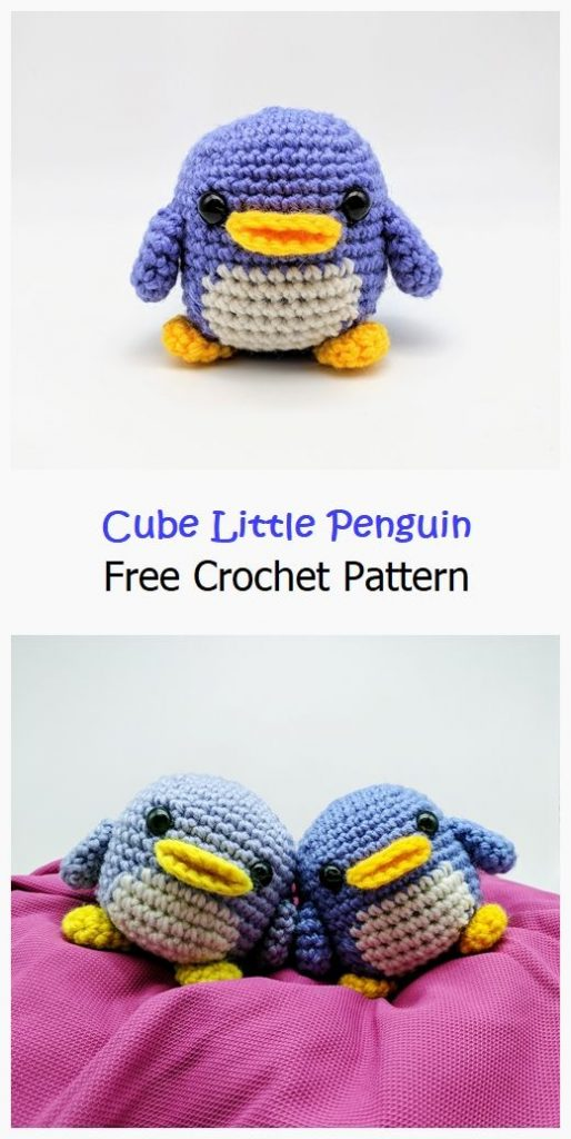 Cube Little Penguin Free Crochet Pattern