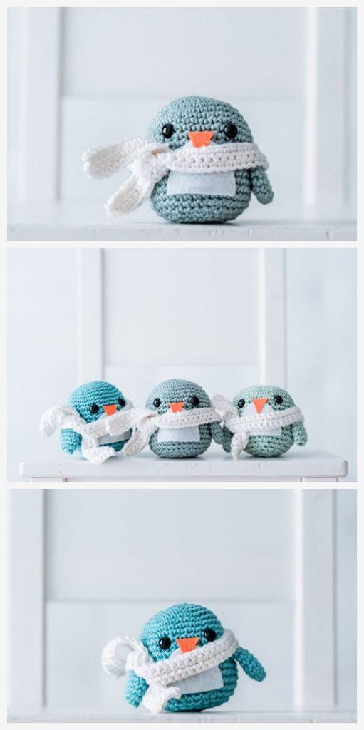Penguin Free Amigurumi Pattern