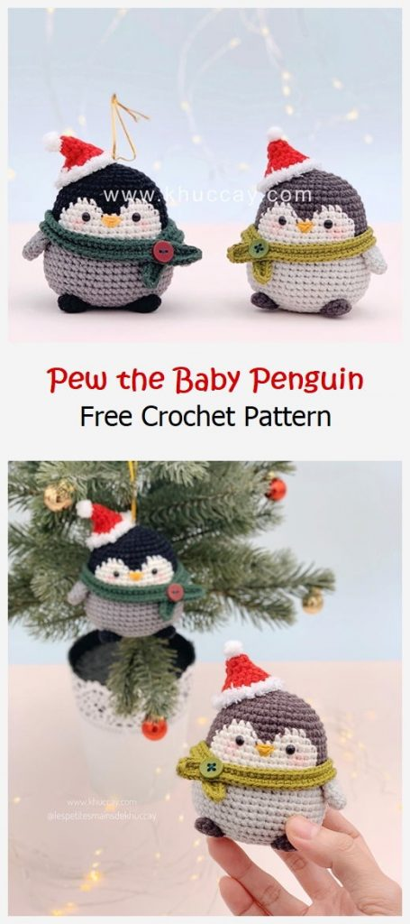 Pew the Baby Penguin Free Crochet Pattern