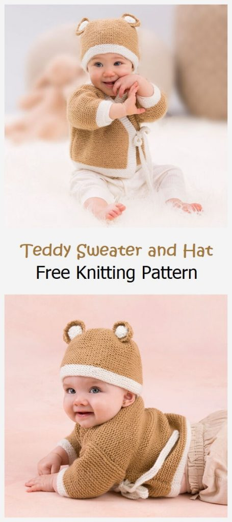 Teddy Sweater and Hat Free Pattern