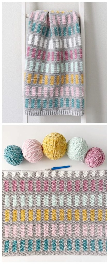 Chandelier Baby Blanket Free Crochet Pattern