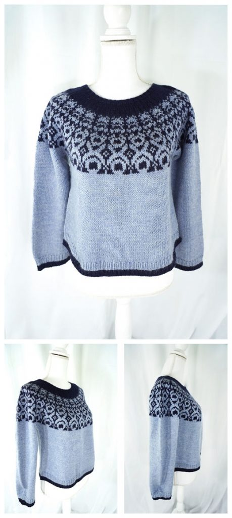 First Frost Pullover Free Knitting Pattern