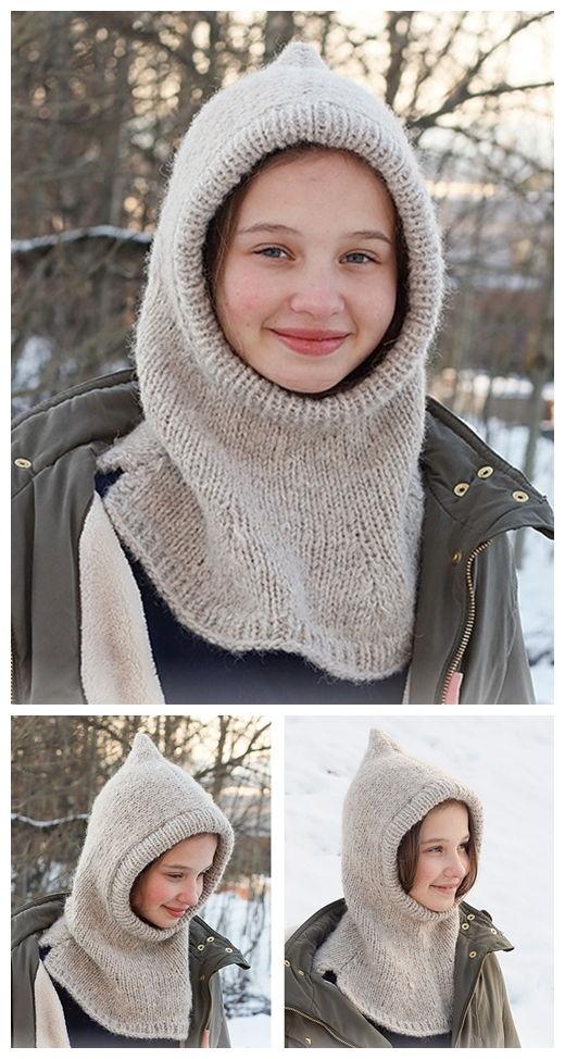 Warm Snuggles Kids Free Knitting Pattern