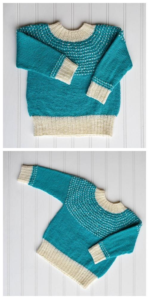 Drizzle Sweater Free Knitting Pattern