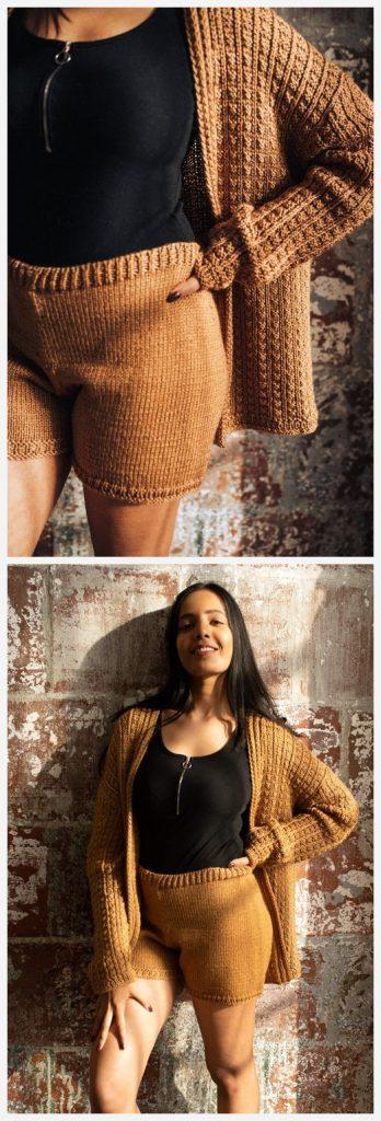 Sylvan Shorts Free Knitting Pattern