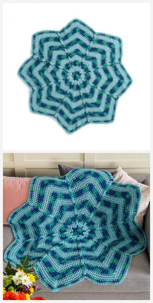 Big Bloom Theory Free Crochet Pattern