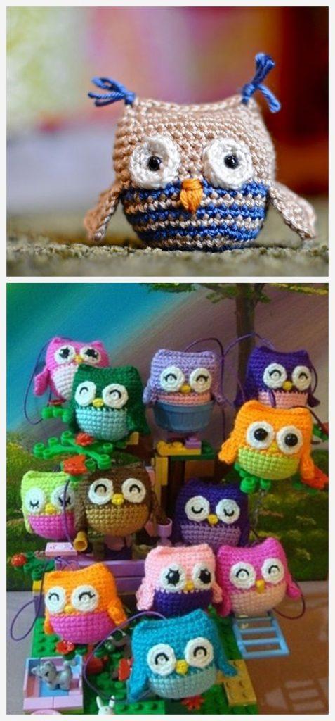 Little Owls Free Crochet Pattern