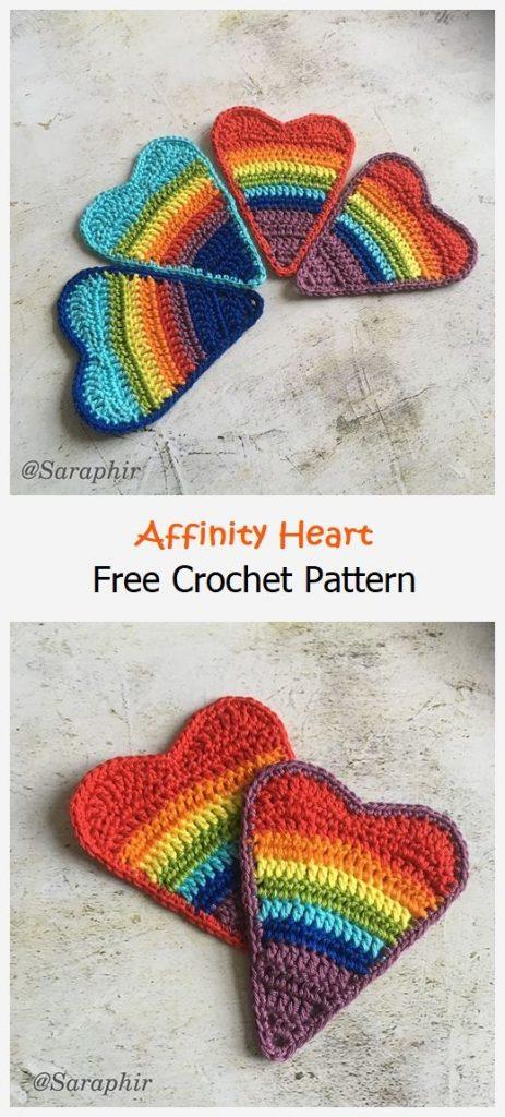 Affinity Heart Free Crochet Pattern
