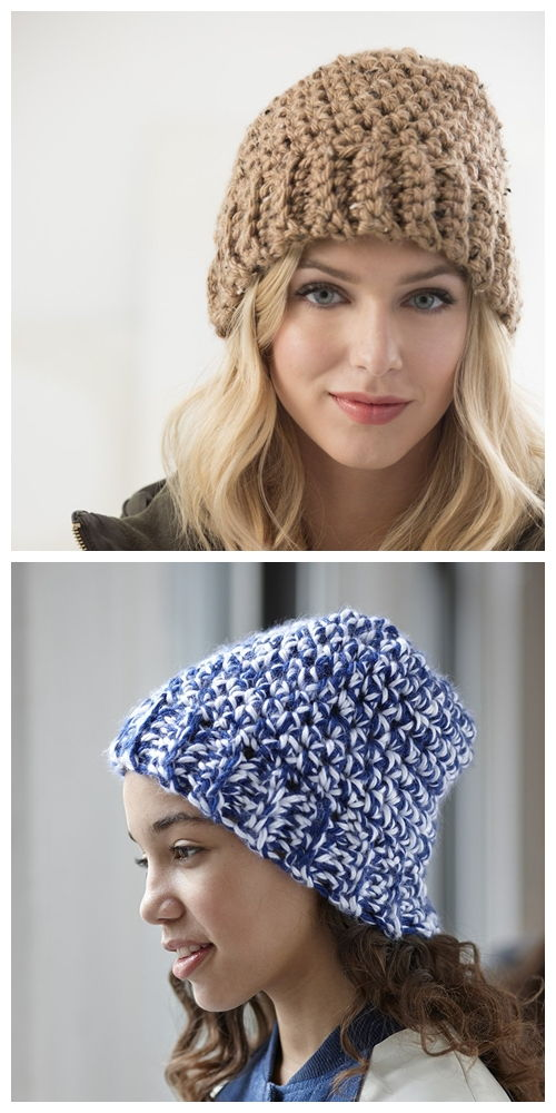 Town And Country Hat Free Crochet Pattern