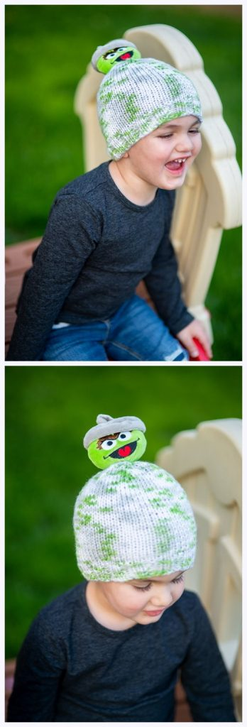 Oscar The Grouch Hat Free Knitting Pattern