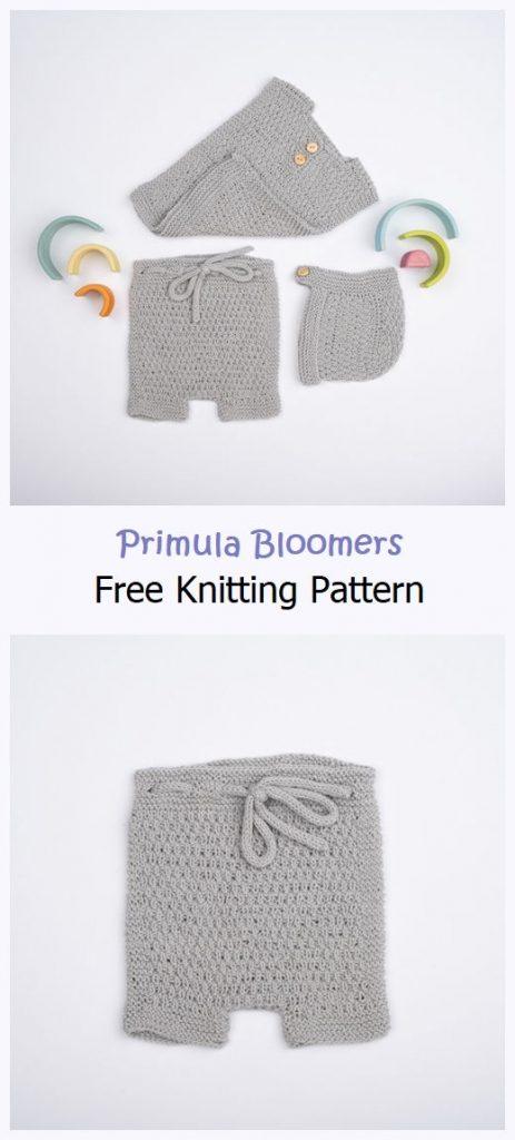 Primula Bloomers Free Knitting Pattern